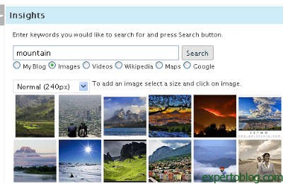 imagenes-insights-wp-plugin