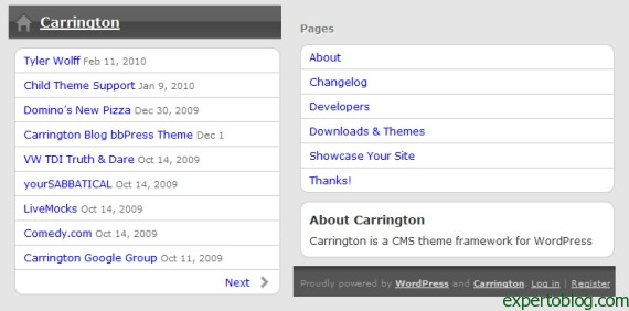Wordpress para móviles