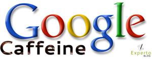 Google Caffeine Logo ExpertoBlog