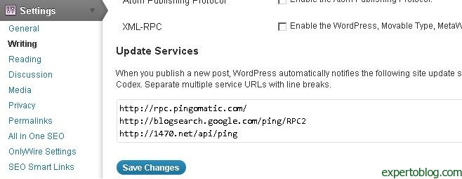 wordpress-ping